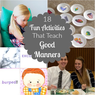 Manners Activities featured