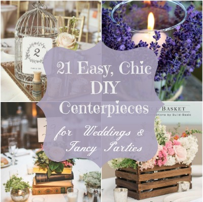 Wedding centerpiece featured