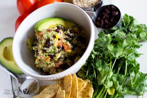 Clean Eating Quinoa Avocado Dip (1)