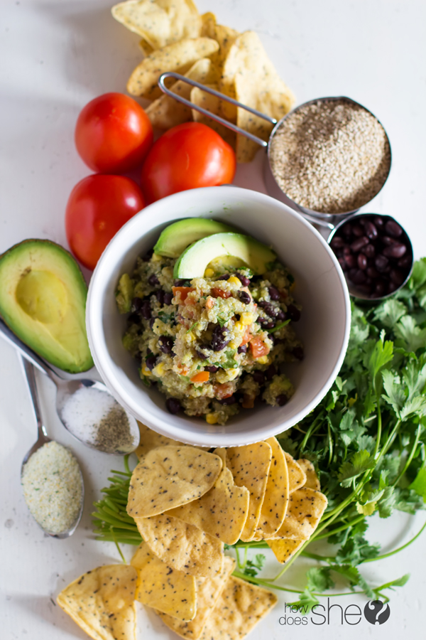 Clean Eating Quinoa Avocado Dip (2)