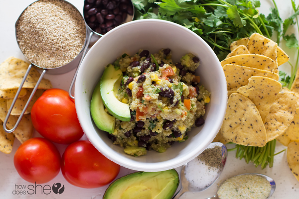 Clean Eating Quinoa Avocado Dip (3)