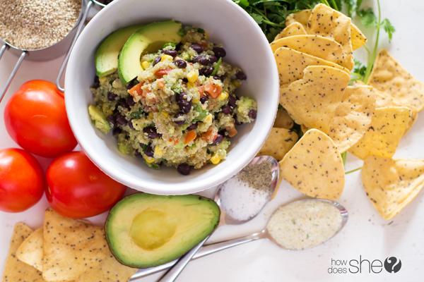 Clean Eating Quinoa Avocado Dip (9)