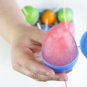 Make Easter Egg Popsicles