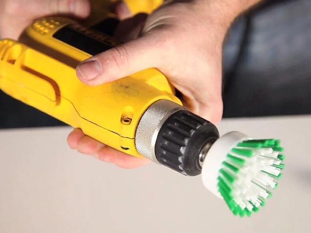 Drill Scrub brush