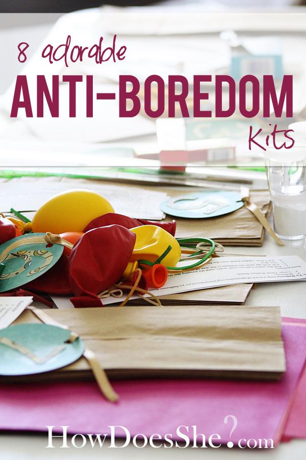 8 antiboredom kits