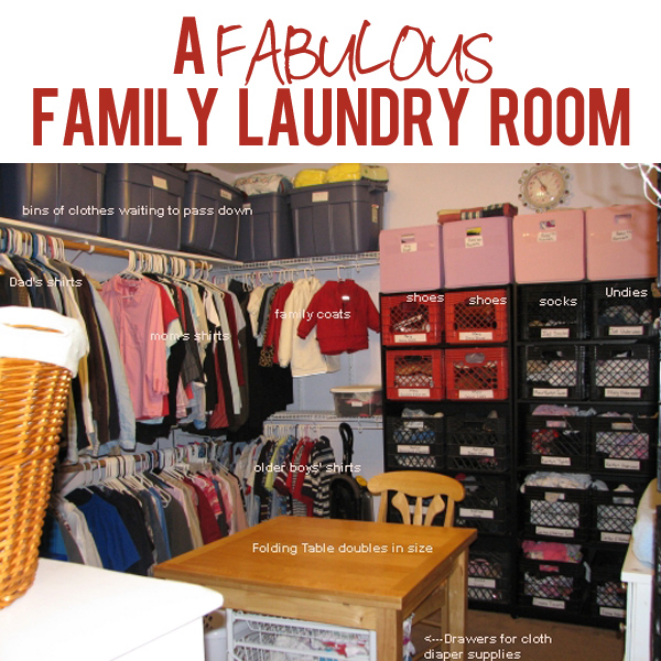 A Family Laundry Room
