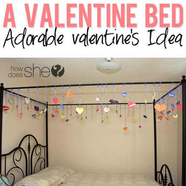 A Valentine Bed