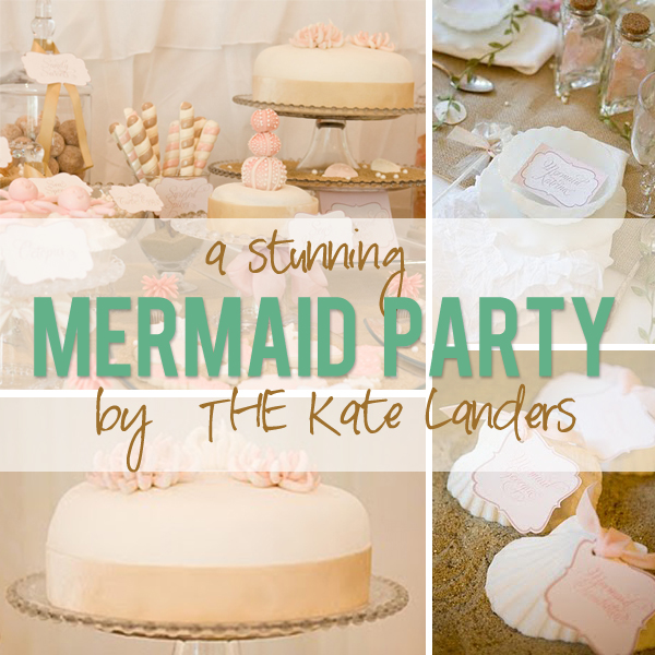 A stunning mermaid party by THE Kate Landers