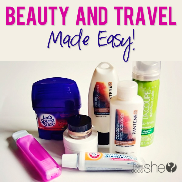 Beauty AND Travel Made Easy