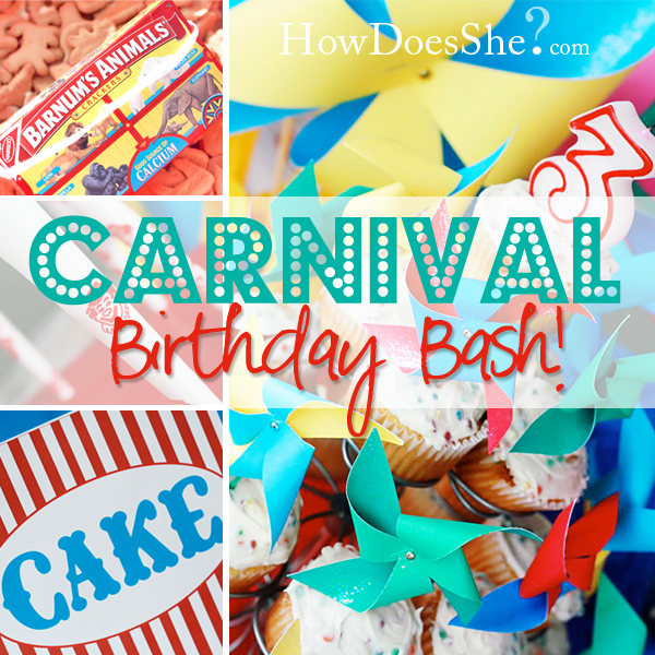 Carnival Birthday Bash