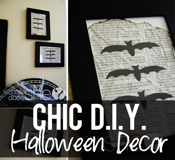 Chic, DIY Halloween Decor