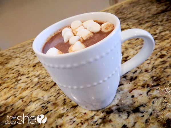 Creamy Holiday Crock Pot Hot Chocolate