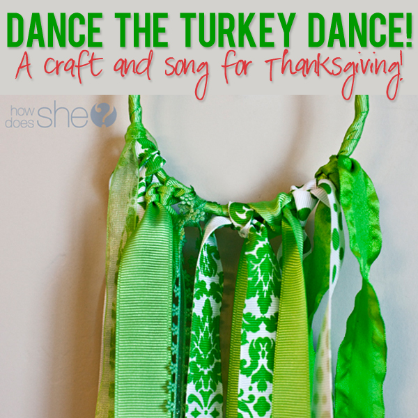 Turkey Dance craft and song