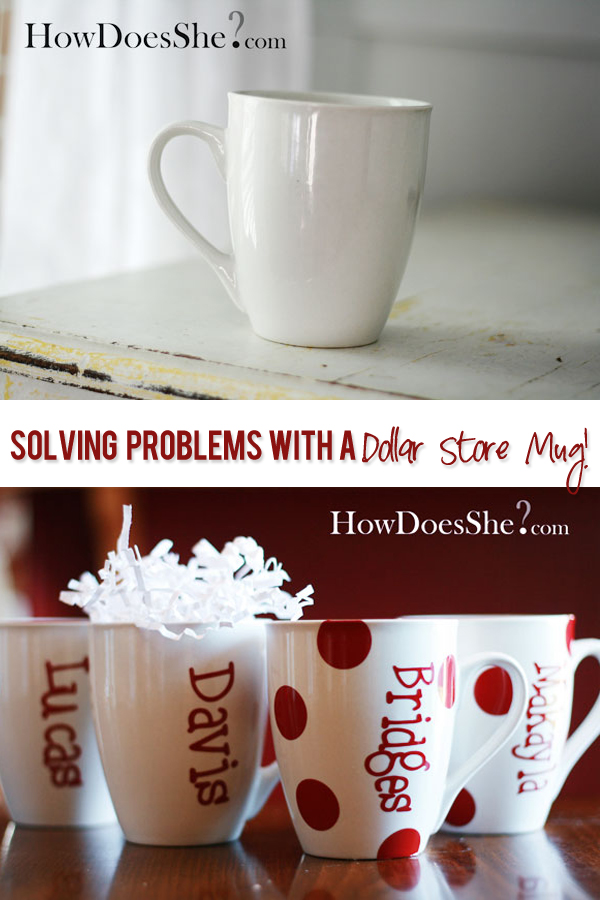Dollar Store Mug solving problems