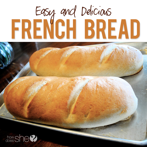 Easy and Delicious French Bread