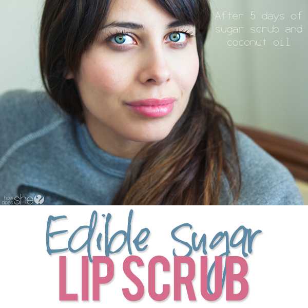 Edible Sugar Lip Scrub