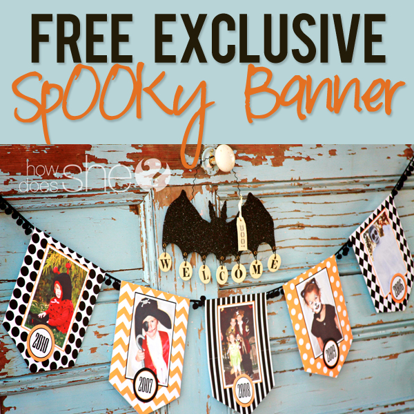 FREE exclusive SpOOky Banner