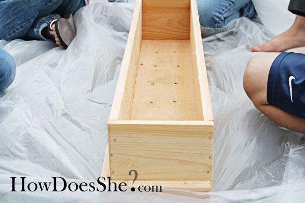 How To Make A Cedar Window Flower Box
