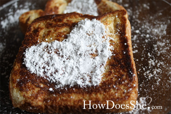 French Toast Heart