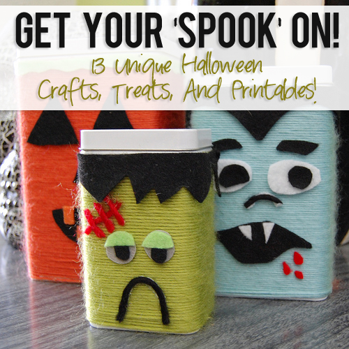 Unique Halloween Crafts, Treats, And Printables
