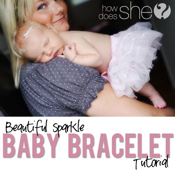 Gorgeous Baby Bracelet