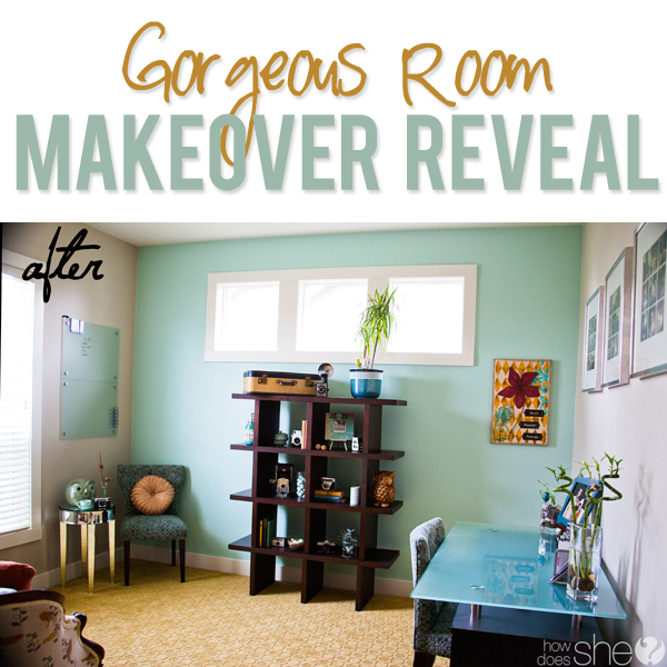 Gorgeous Room Makeover Reveal