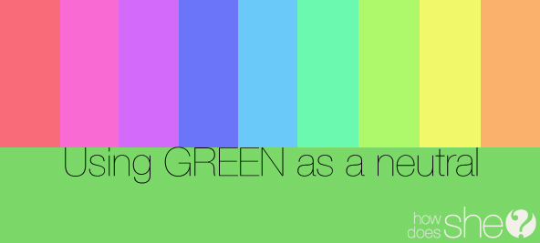 Fun Things that are The Color Green