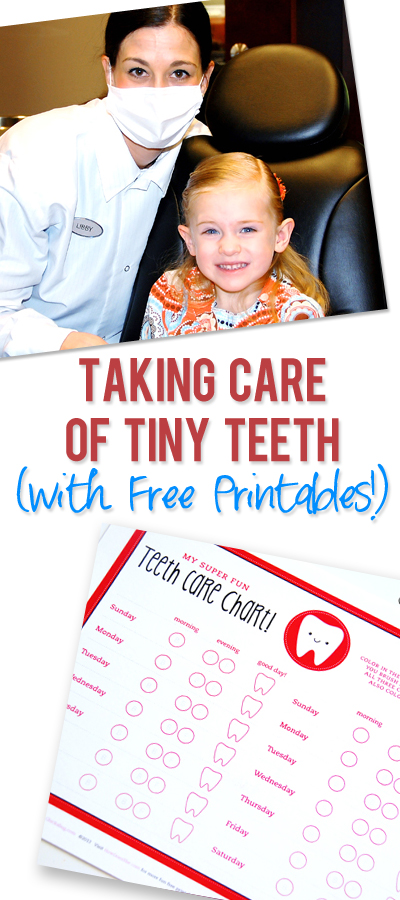 tips for taking care of tiny teeth