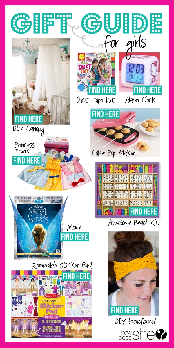 gift guide for little girls