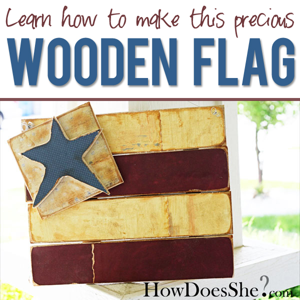 How To Make A Cute Flag Decoration