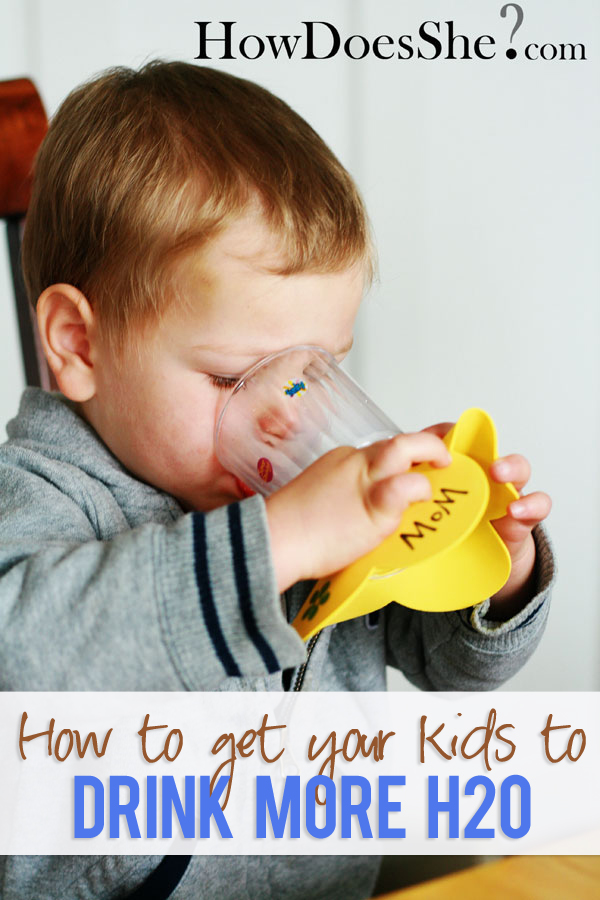 How to get your kids to drink more H20