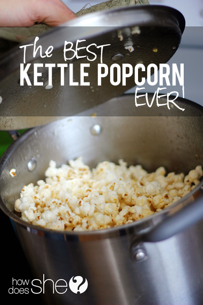 Seriously the BEST kettle popcorn EVER!
