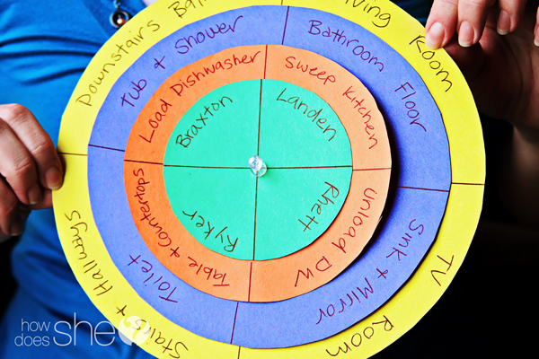 Chore-chart-for-multiple-children