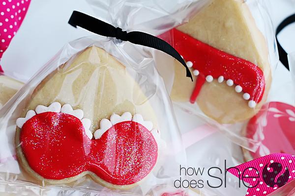 lingerie cookies