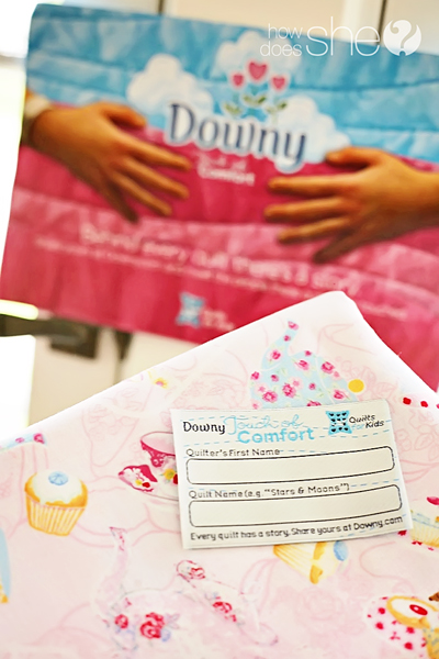 Downy Touch of Comfort Quilts for Kids