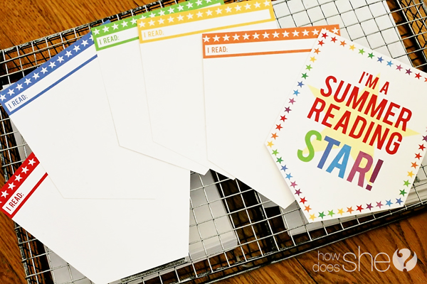 Summer Reading Star PRINTABLE