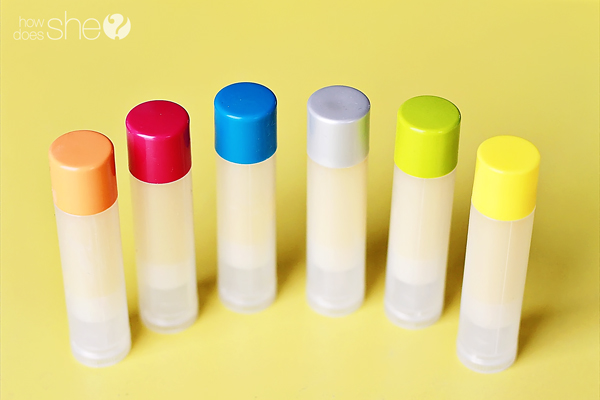 DIY All natural lip balm