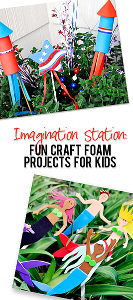 Imagination Station Fun Craft Foam Projects for Kids