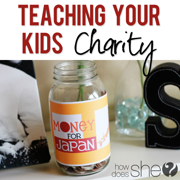 Japan Teach your kids charity