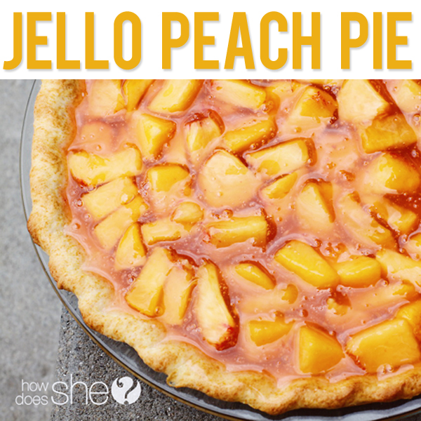 Jello Peach Pie
