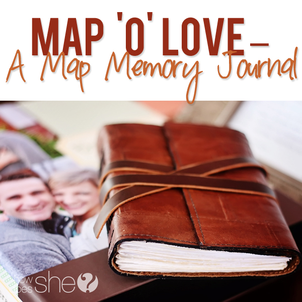 Map Memory Journal