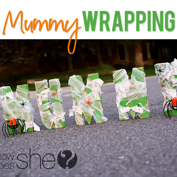 Mummy Wrapping