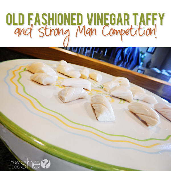 Old Fashioned Vinegar Taffy