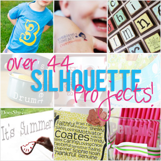 Over 44 Silhouette projects