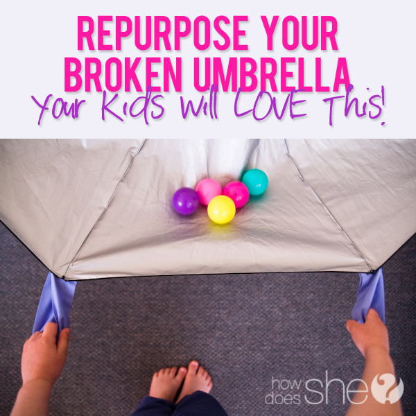 What to do with a broken umbrella