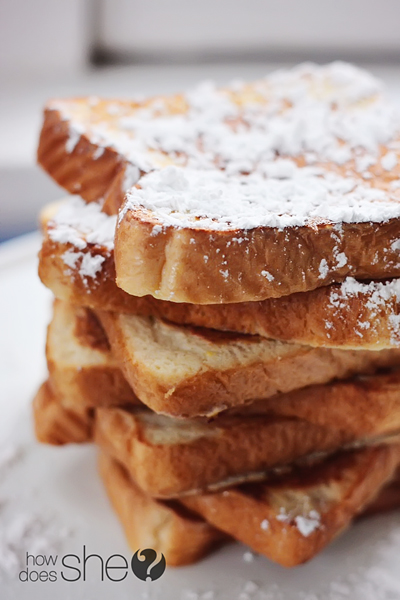 French Vanilla French Toast
