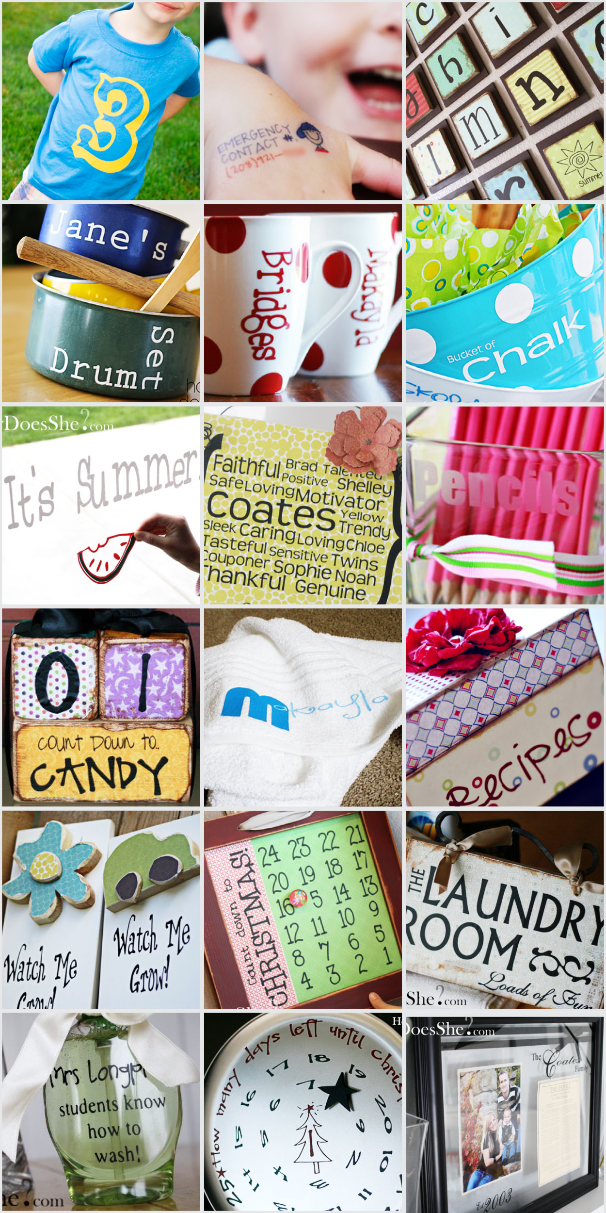 Silhouette Cameo Craft Ideas for Pinterest