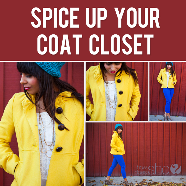Spice up your coat closet