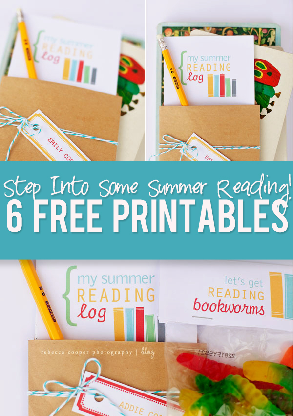 summer reading program printables