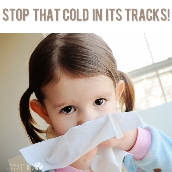 Stop that cold in its tracks